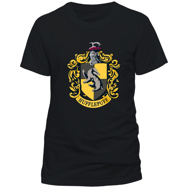 Harry Potter - Hufflepuff Crest Flag T-shirt