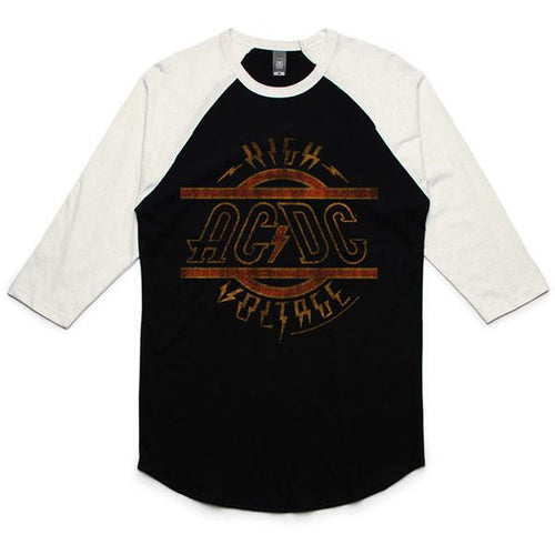 AC/DC - Logo Tour Baseball Shirt