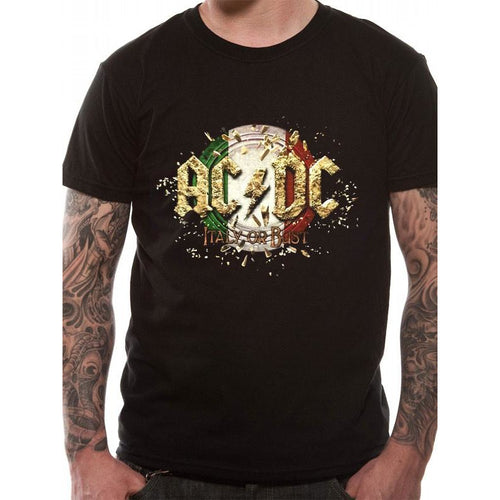 AC/DC - Italy Event Tour T-Shirt