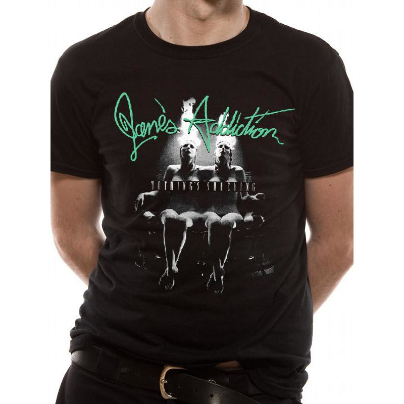 Buy Jane's Addiction (Nothing's Shocking) T-shirt online at Loudshop.com