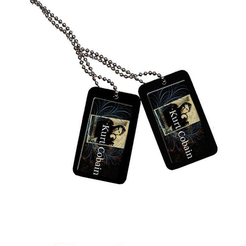 Kurt Cobain (Blue Crest) Epoxy Dog Tag