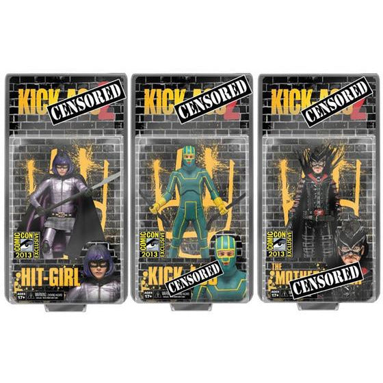 "Kick Ass 2 (Uncensored Packaging) 7"" Action Figures"