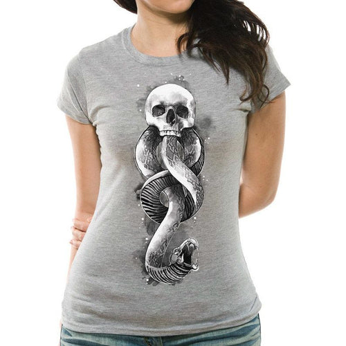 Harry Potter - Dark Art Snake Fitted T-Shirt