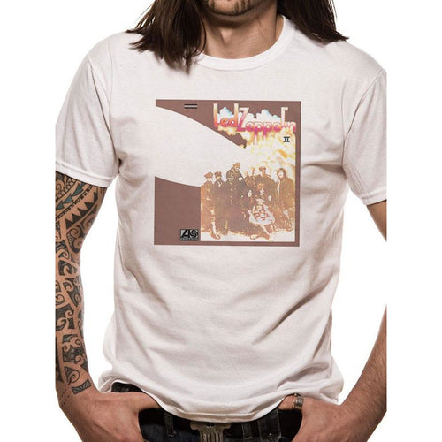 Buy Led Zeppelin (II Cover) T-shirt online at Loudshop.com