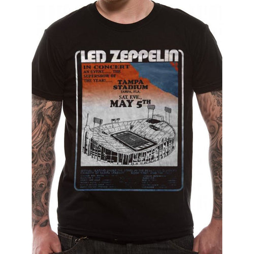 Buy Led Zeppelin (Tampa Stadium) T-shirt online at Loudshop.com
