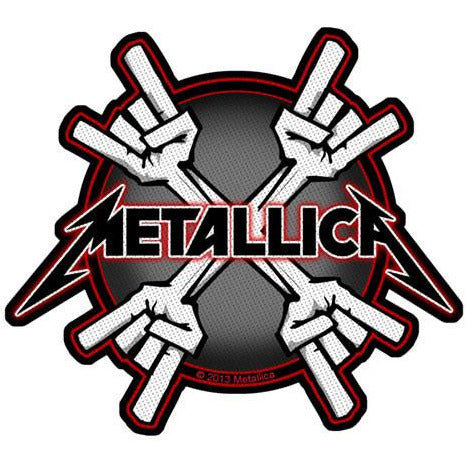 Metallica - Metal Horns Patch