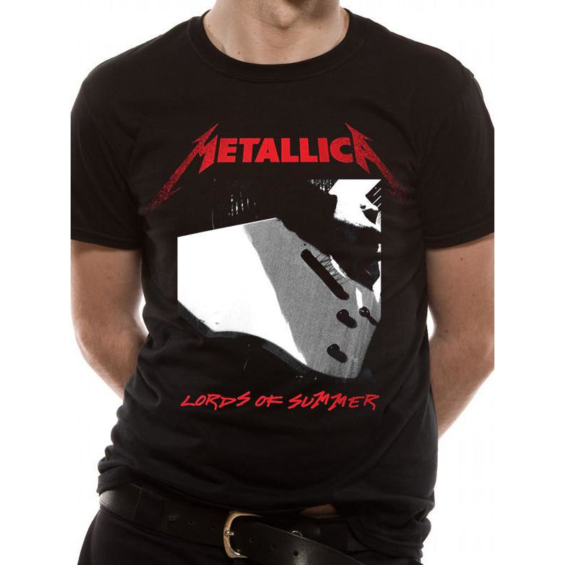 Buy Metallica (Lords Of Summer) T-shirt online at Loudshop.com