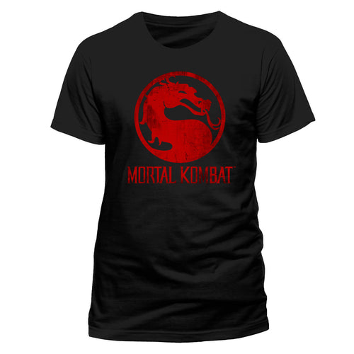 Mortal Kombat | Logo Distressed T-Shirt