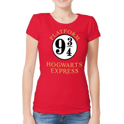 Harry Potter | Platform 9 3/4 Women's Fitted T-Shirt