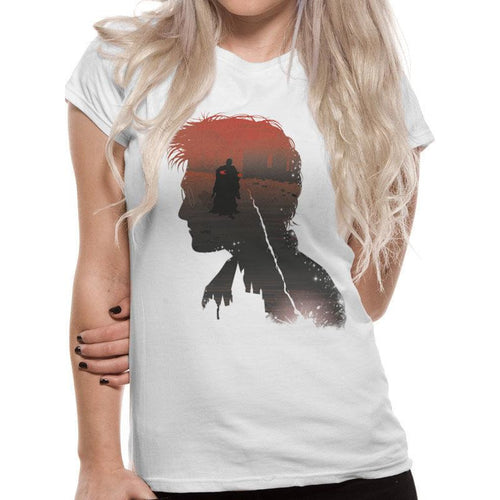 Harry Potter - Battle Silhouette Fitted T-Shirt