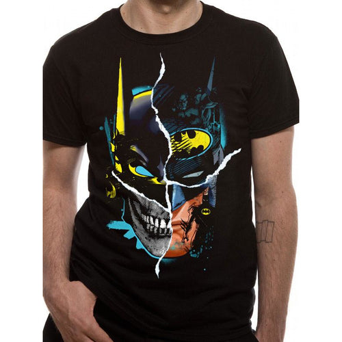 ad41d2a34b7 Buy Batman (Gotham Face Loud Exclusive) T-shirt online at Loudshop.com