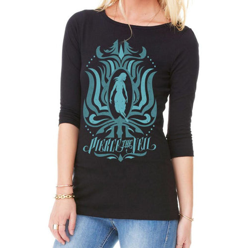 Buy Pierce The Veil (Ornate) Girls Longsleeve online at Loudshop.com