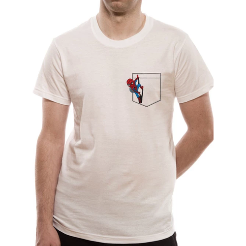 Marvel Comics - Retro Spidey Pocket T-shirt