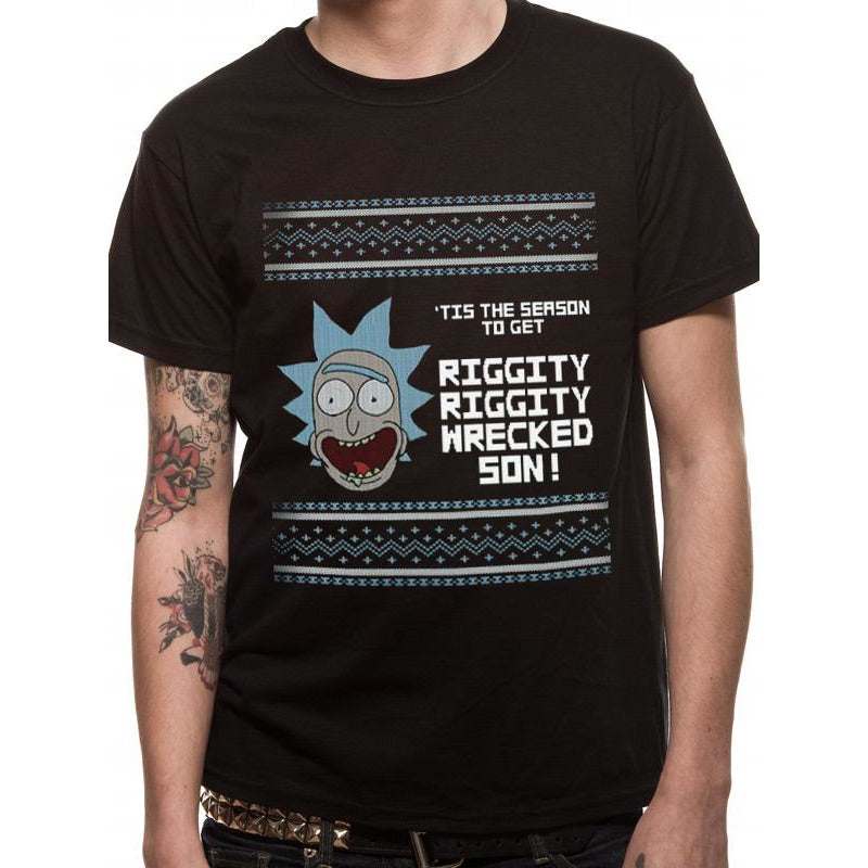 Rick and Morty - T'is the Season T-shirt