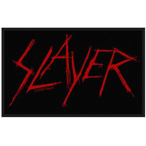 Slayer (Scratched Logo) Patch