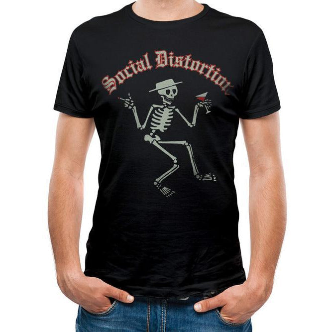 Social Distortion | Skelly Logo T-Shirt