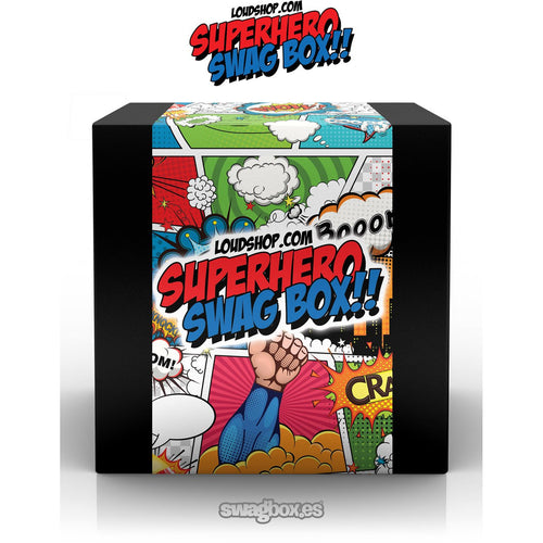Superhero 3 Fitted T-shirt Swagbox