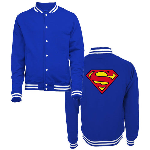 Buy Superman (Logo) College Jacket online at Loudshop.com