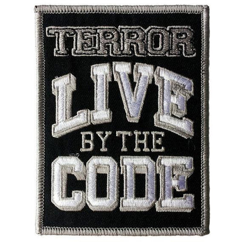 Buy Terror (Live By The Code) Patch online at Loudshop.com