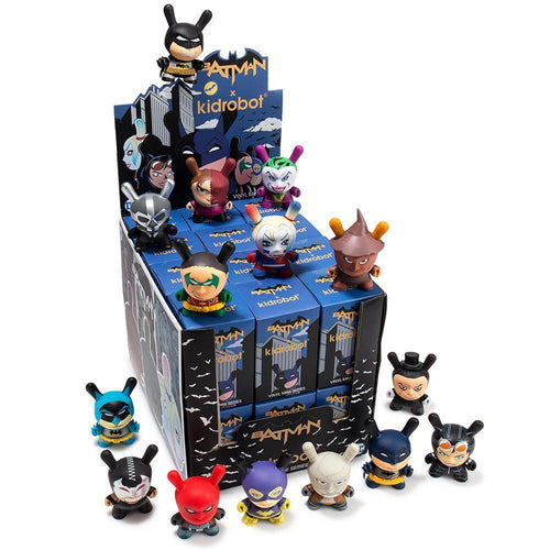 "Batman x Kidrobot 3"" Blind Box Dunny Figures"