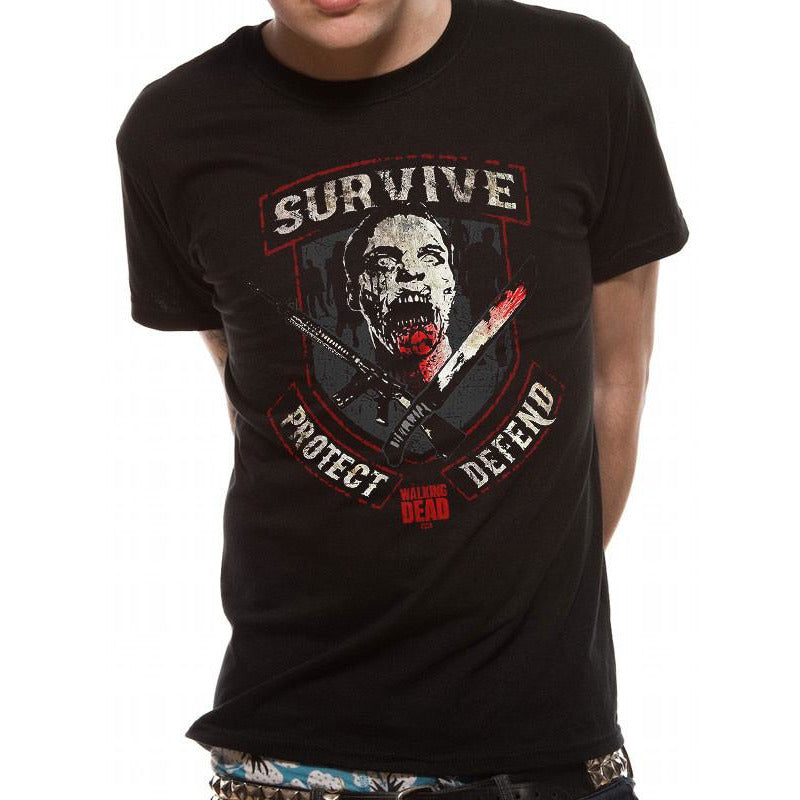 Buy The Walking Dead (Survive) T-shirt online at Loudshop.com