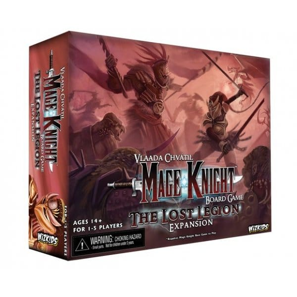 WizKids | Mage Knight: The Lost Legion Expansion | Board Game