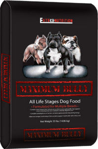 Maximum Bully Dog Food