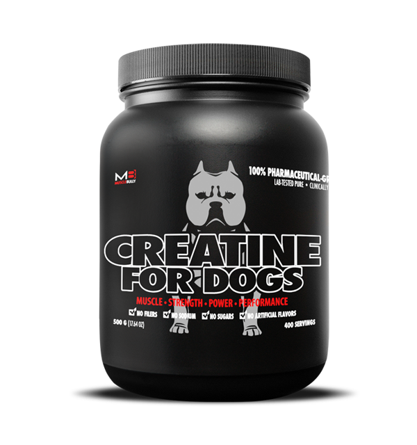 Muscle Bully Pitbull Supplements Presents Creatine for dogs