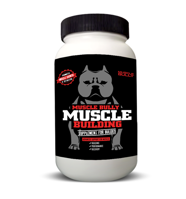 A real muscle building supplement for dogs and pitbulls