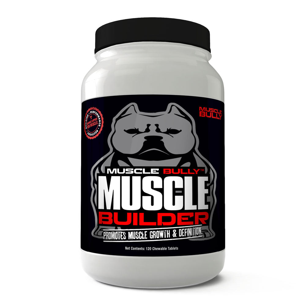 Muscle Builder, Helps Promote Healthy Muscle Growth & Definition on Dogs, 100% Safe, Made in USA. Results Guaranteed.