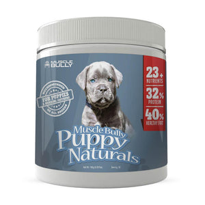 Muscle Bully™ Puppy Naturals Vitamins - For Growing Healthy Puppies.
