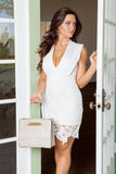 Mila Lace Skirt Dress