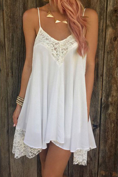 Magnolia White Dress