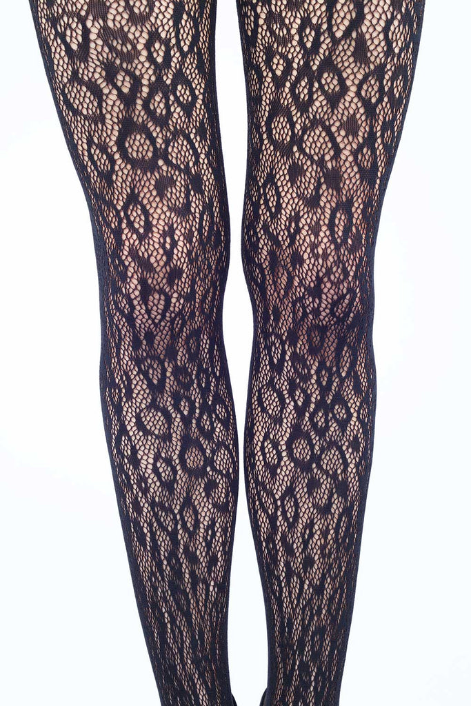 Wild Leopards Fishnet Stockings