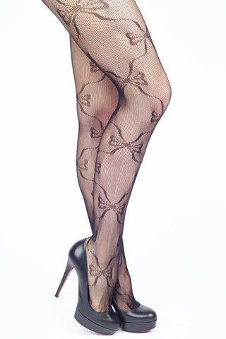 Victorian Garden Fishnet Stockings