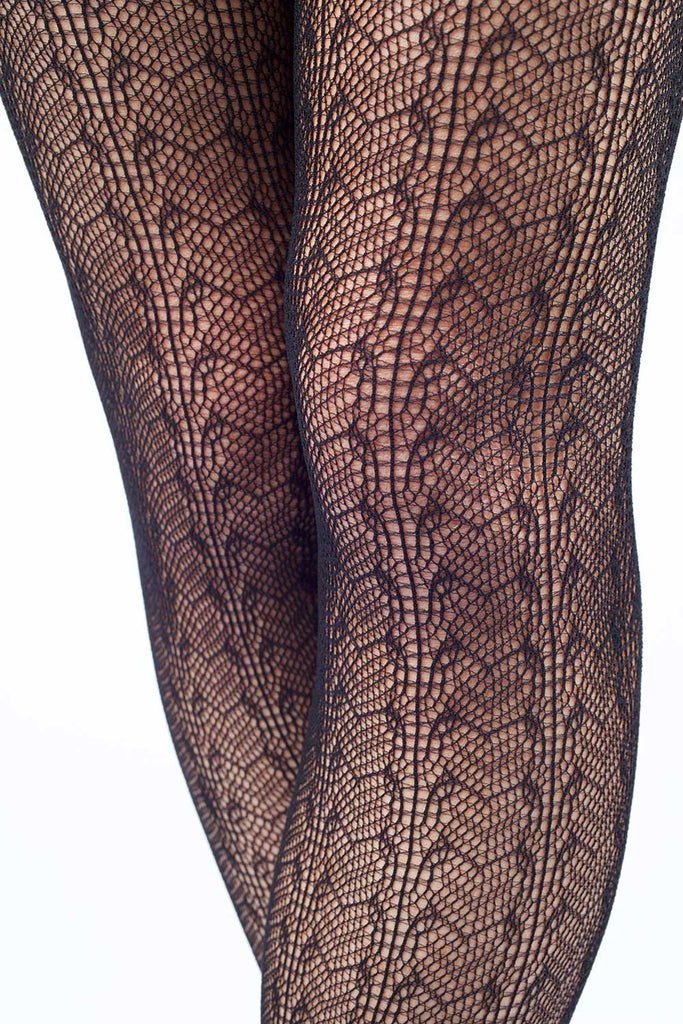 Gothic Revival In Lace Fishnet Stockings