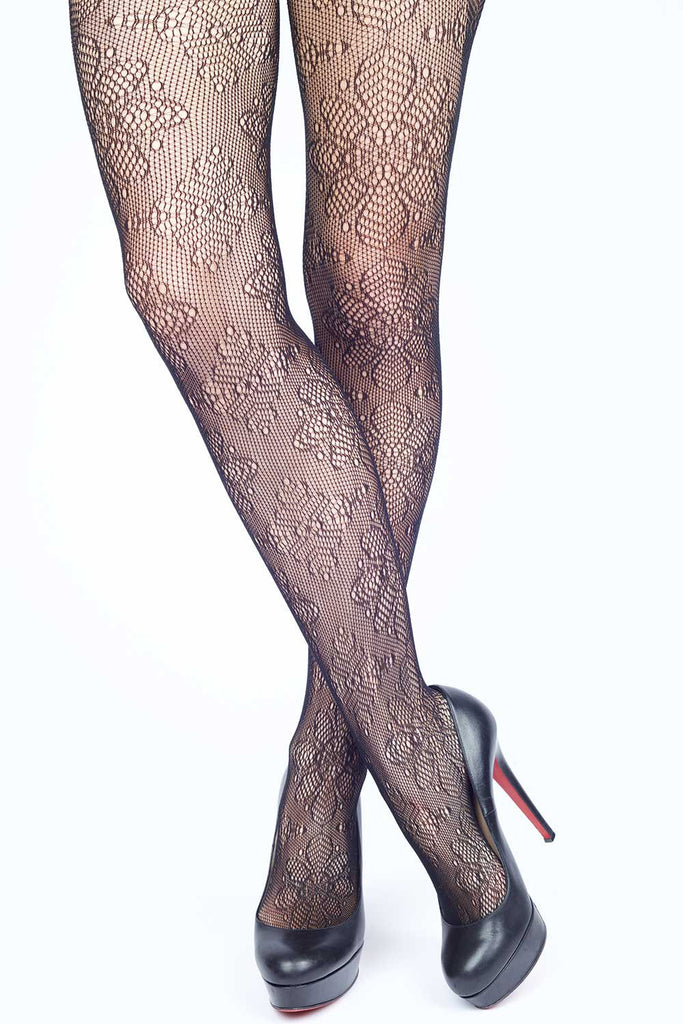 37a6c2e9980 Snow Flower Fishnet Stockings
