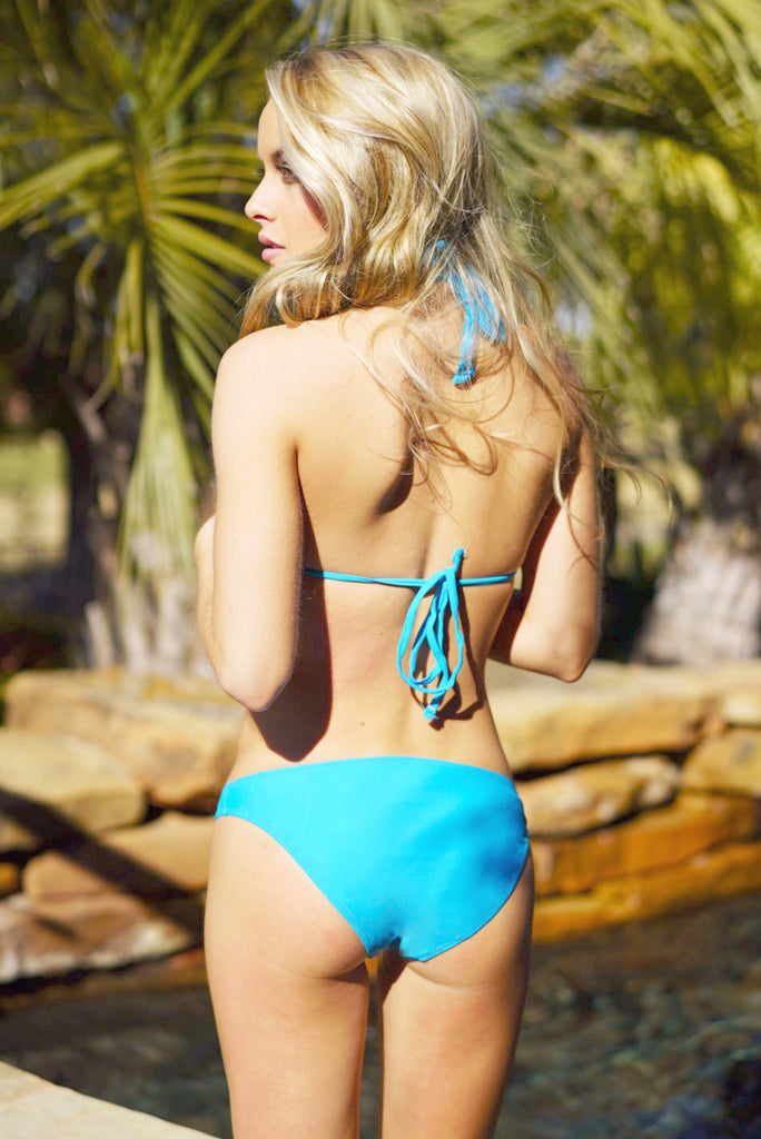 Blue Triangle Swimsuit