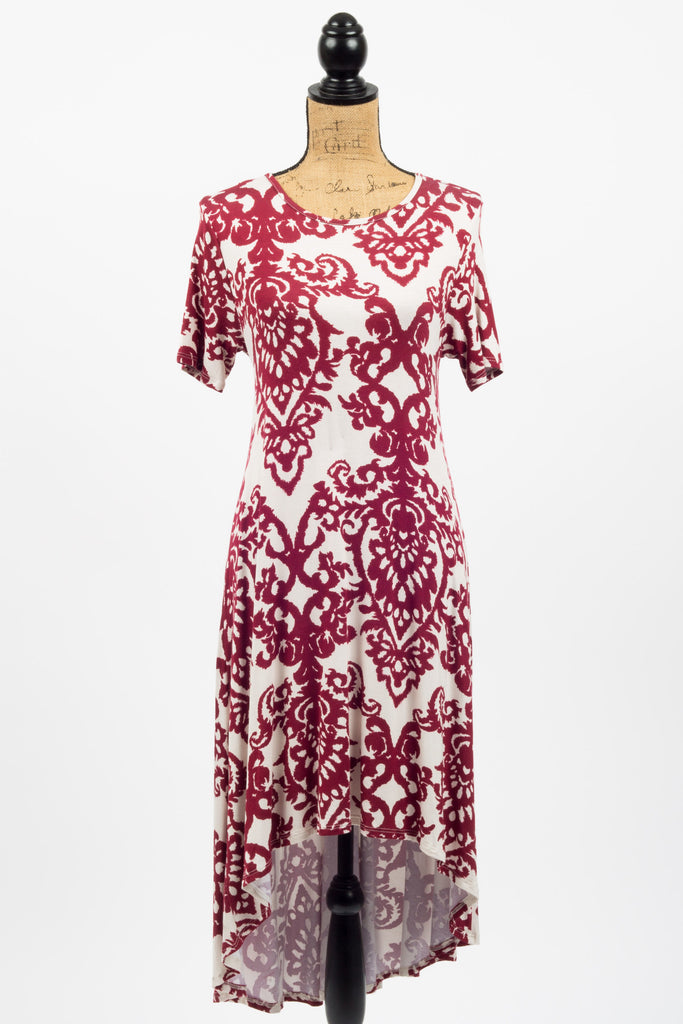 Felicity Floral High Low Dress