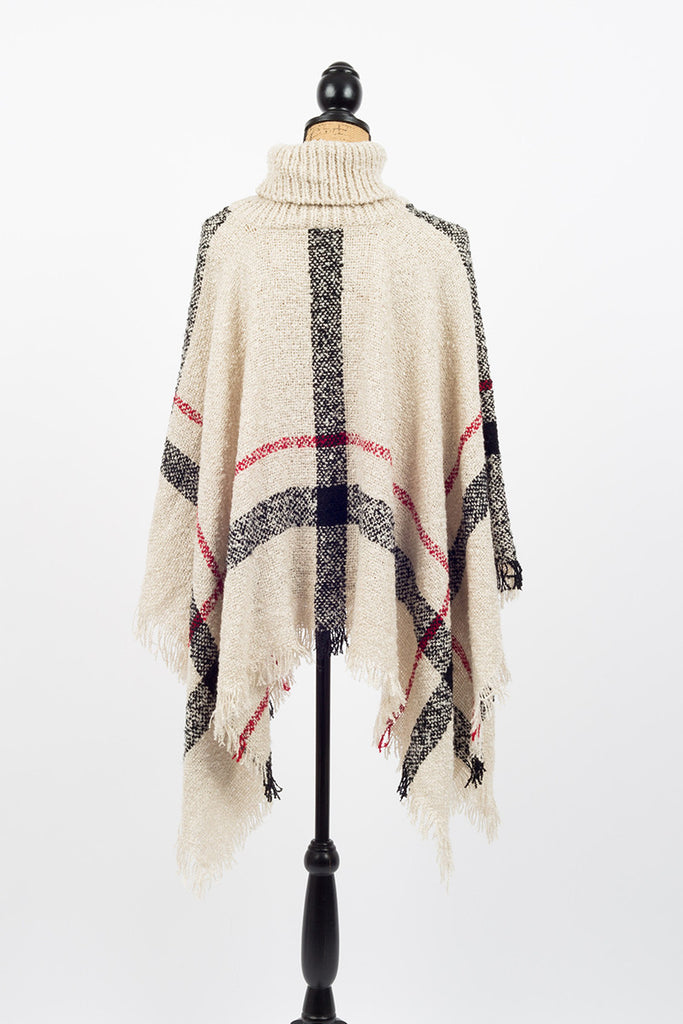 Sunday Brunch Poncho - Sample