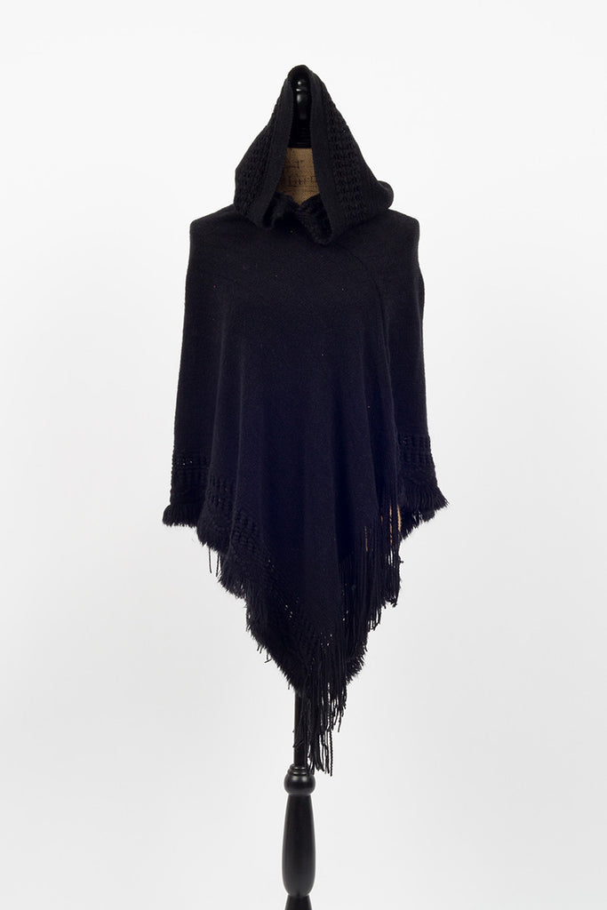 Knock-Out Hooded Poncho - Sample