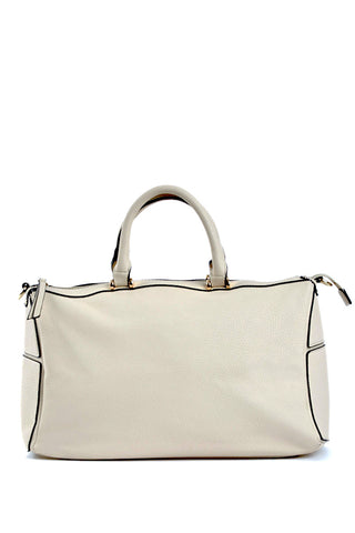 The Amalia Beige Crossbody Bag