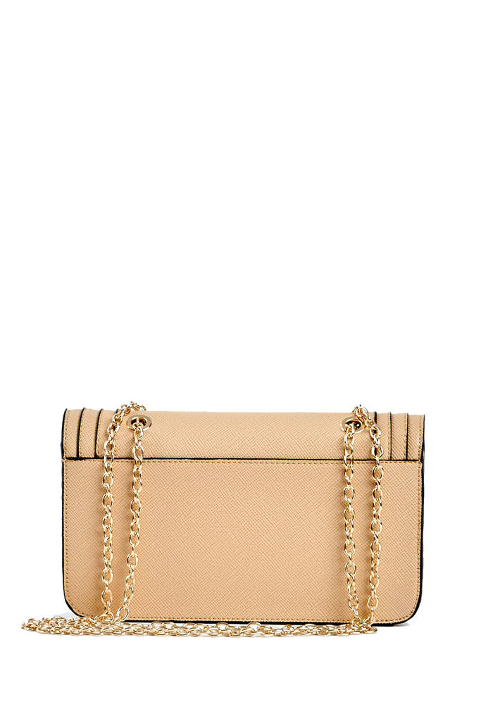 The April Taupe Crossbody Bag