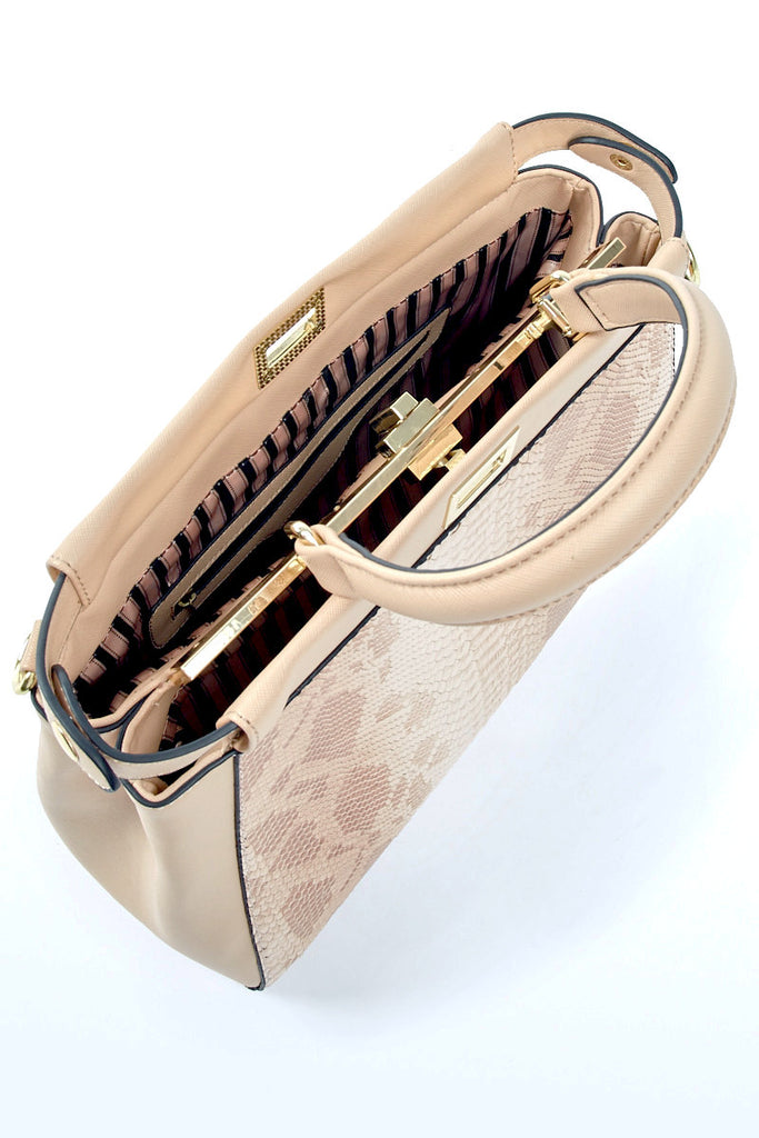 The Jayne Snakeskin Handbag