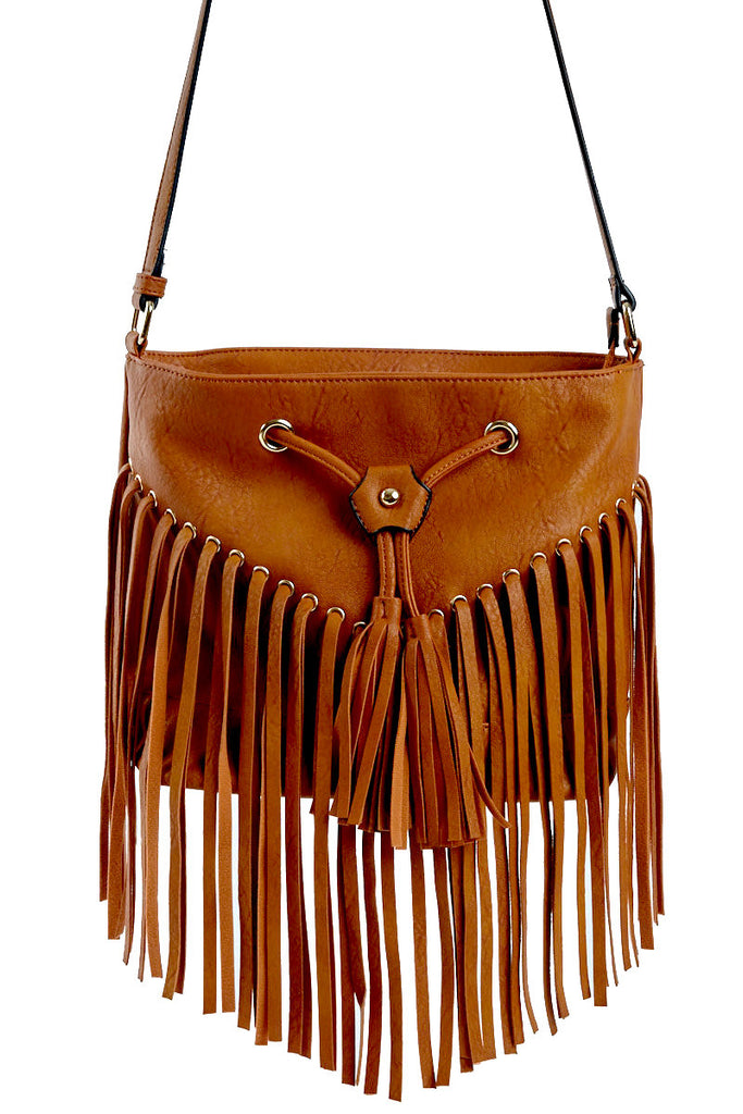 Demi Fringe Crossbody Bag