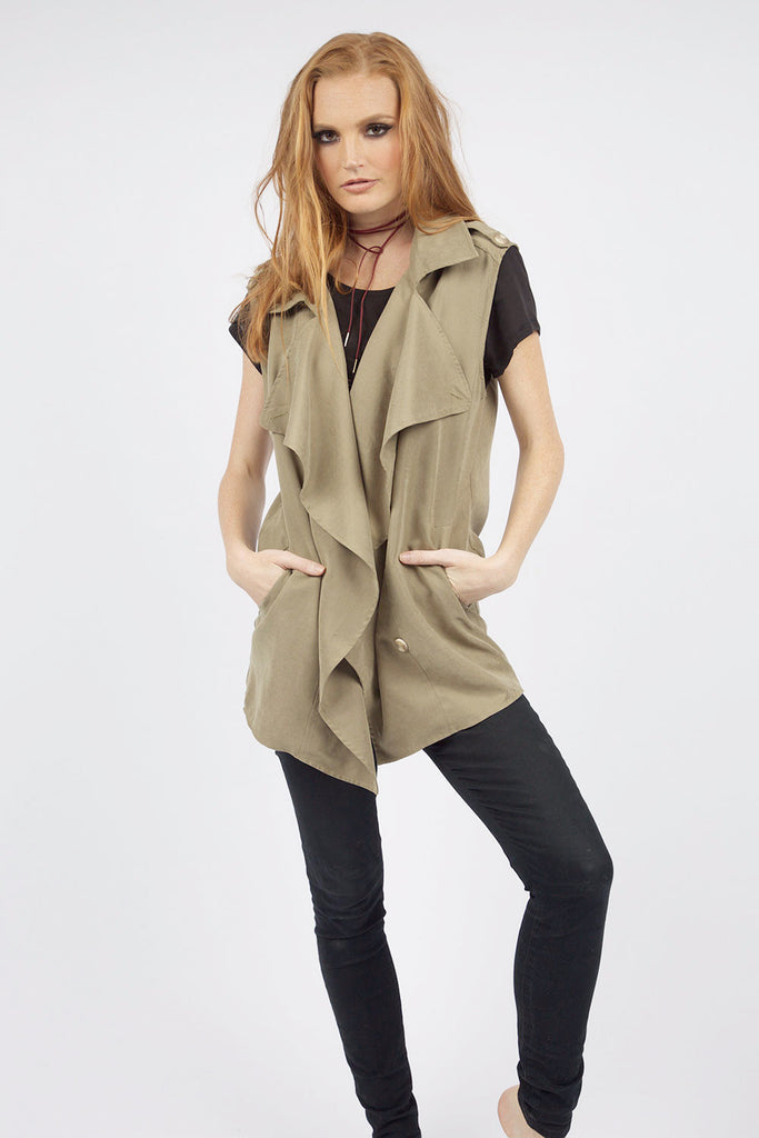 Womens Military Vest
