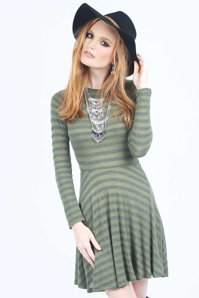 The All-American Striped Dress