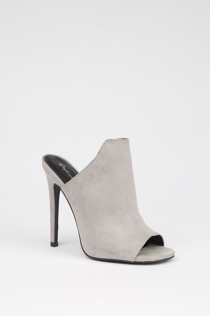 Veronica Grey Mules