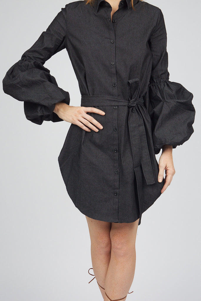 Kimberly Denim Shirt Dress