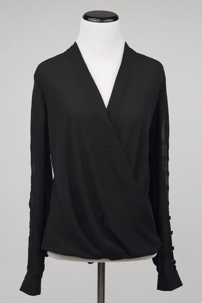 Denise Cutout Sleeves Blouse